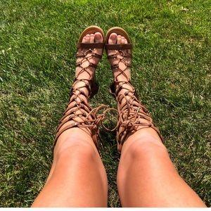 Shoes - Lace up sandals